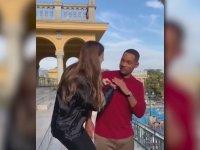 Larissa Gacemer'in Will Smith'e Çeyrek Altın Takması