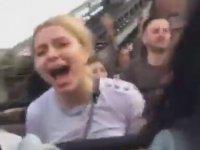 Aleyna Tilki'nin Roller Coaster ile İmtihanı