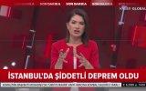 İstanbul'da Büyük Deprem Canlı Yayında Deprem Anı