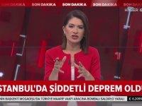 İstanbul'da Büyük Deprem (Canlı Yayında Deprem Anı)