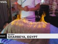 Mısır'da Yüzyıllardır Yaşatılan Kızgın Havluyla Masaj Geleneği