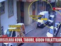 Bidon Tabure Kovaya Rağmen Soygundan Vazgeçmeyen Hırsızlar