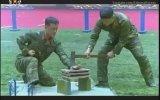 Kuzey Koreli Askerlerden Dayanıklılık Gösterisi