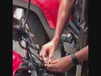 Motosiklet Nasıl Çalınır?