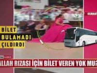 Nişanlığı ile Otogarda Bilet Dilenen Genç Kız