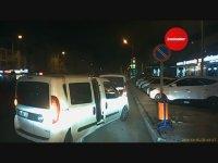Polislerin Tartışmasını Fırsat Bilip Ekip Aracıyla Kaçan Şüpheli