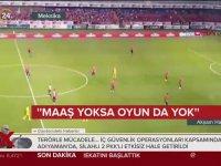 Maçta Protesto Gerçekleştiren Takımın 2 Gol Yemesi