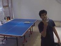 Masa Tenisinde Harikalar Yaratan Genç