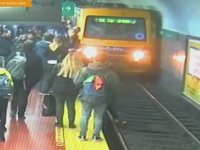 Metro Raylarında Ölümden Dönmek