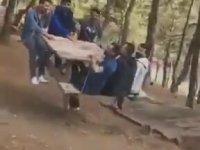 Piknik Masasını Salıncağa Dönüştürmek