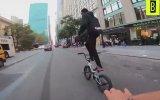 Bisiklet Kullanırken New York Sokaklarını Birbirine Katmak