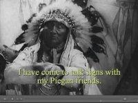 Kızılderili Şeflerinin İşaret Dili ile Konuşması (1930)