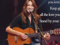 Stand by Your Man - Carla Bruni
