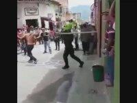 Suçluya Allah Ne Verdiyse Vuran Polis