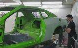 Yangından Çıkan Küle Dönmüş Dodge Challenger'ı Sıfır Gibi Yapmak