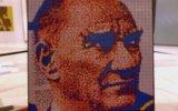 1500 Rubik Küp ile Atatürk Portresi Yapmak