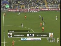 Fenerbahçe 6-0 Galatasaray (6 Kasım 2002 - Full Maç)