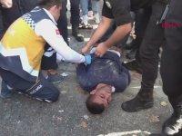 Para Vermeyen Kadına İnşaat Demiri Saplayan Filistinli - İstanbul