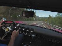 Ferrari 250 GTO ile Virajlı Dağ Yolunda