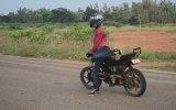 Motosikleti Amuda Kalkıp Kullanmak