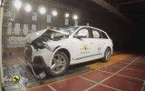Audi Q7 2019 Kaza Testi