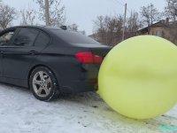 BMW ile Balon Şişirmek