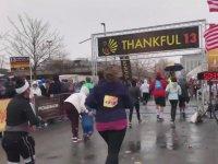 Maratona Katılan Beceriksiz Anne