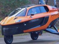 Seri Üretime Geçilen İlk Uçan Araba