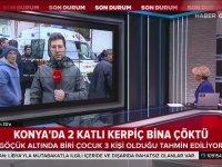 Çöken Bina Haberini Yaparken Saldırıya Uğramak - Konya