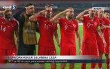 UEFA'nın Asker Selamına 50 Bin Euro Ceza Vermesi