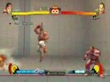 Street Fighter İv Ryu Dan Ultra Ve Süper Kombo Sho