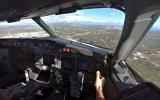 Pilotun Gözünden Havalimanına Zorlu İniş