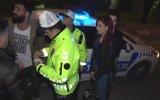 Polisten Kaçan Sürücünün Yakalanışı
