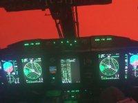 Avustralya'da İtfaiye Uçağından Görüntü