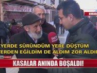 Bedava Portakal İçin Birbirini Ezen Vatandaşlar