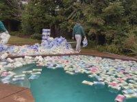 Bir Havuzun Suyunu Kaç Tuvalet Kağıdı Emer
