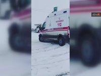 Ambulansla Drift Atan Sürücü