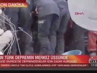 Cnn Türk Muhabirinden Depremzedeye: Mutlu musunuz?