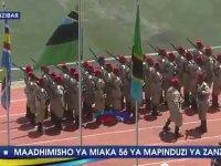 Geçit Törenini Eğlenceye Dönüştüren Zanzibar Askerleri