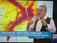 Naci Görür'ün, Elazığ Depremini 3 Ay Önceden Tahmin Etmesi