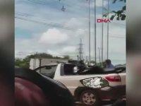 Polis Helikopterine Kamyon Çarpması - Brezilya