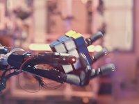 Rubik Küp Çözebilen Robotik El