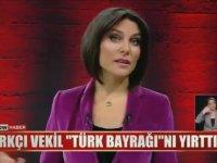 Ece Üner'in Türk Bayrağı'nı Yırtan Yunan Vekile Okkalı Cevabı