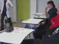 Geometri Dersini Erik Dalı İle Sevdiren Öğretmen