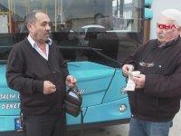 İçinde 18 Bin Dolar Olan Çantayı Sahibine Teslim Eden Otobüs Şoförü