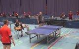 Masa Tenisinde Rakibi Afallatan Sayı