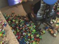Rubik Küplerle Kobe Bryant Portresi Yapmak