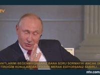 Sunucuya Sinirlenen Putin'in Almanca Atarlanması