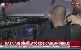 Düşen Uçağın Kaza Anı Simülasyonu