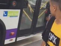 TikTok'a Sabrı Olmayan Otobüs Şoförü